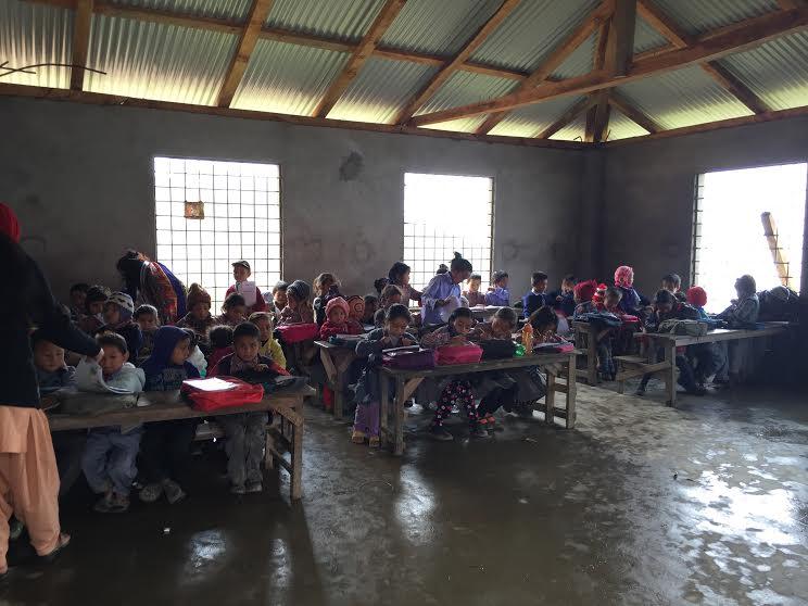 UWS-Nepal lunches six schools in Sankhuwasabha