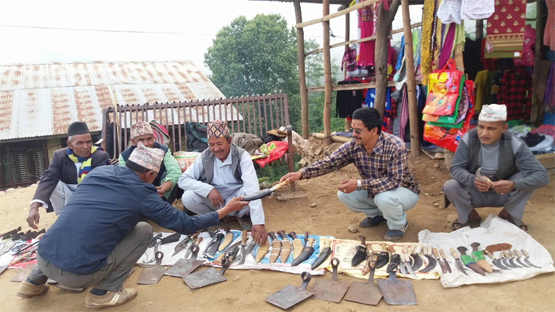 Trade in domestic equipment adds to income  in Khotang