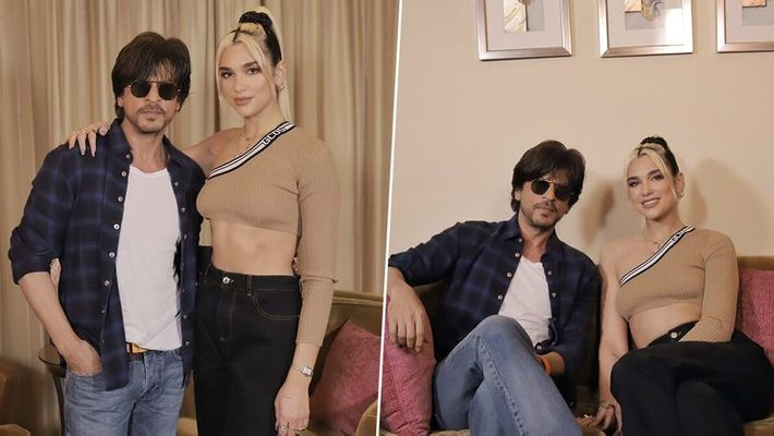 Dua Lipa thanks Shah Rukh Khan for teaching her Bollywood moves!