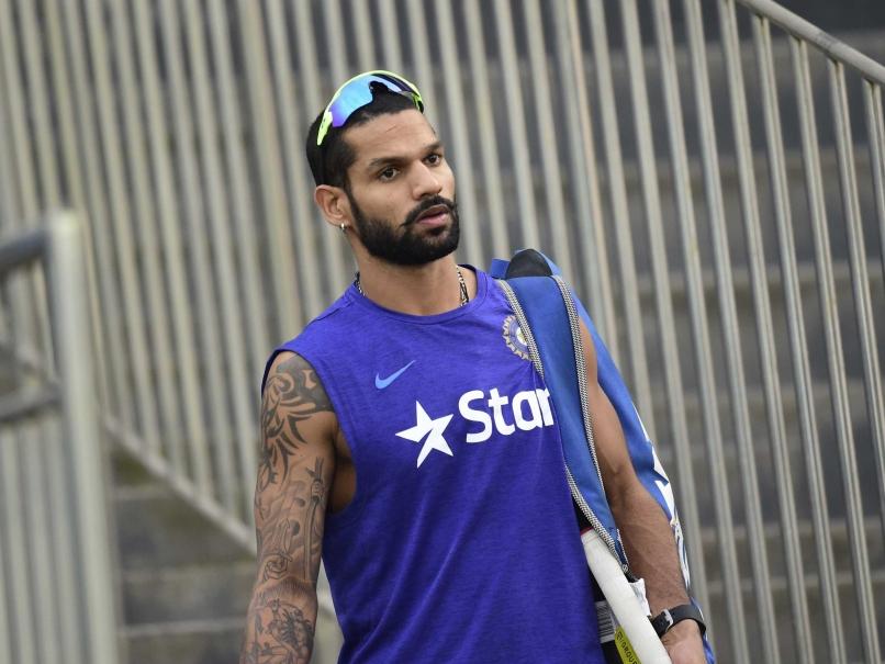 India opener Dhawan to miss first three Australia ODIs