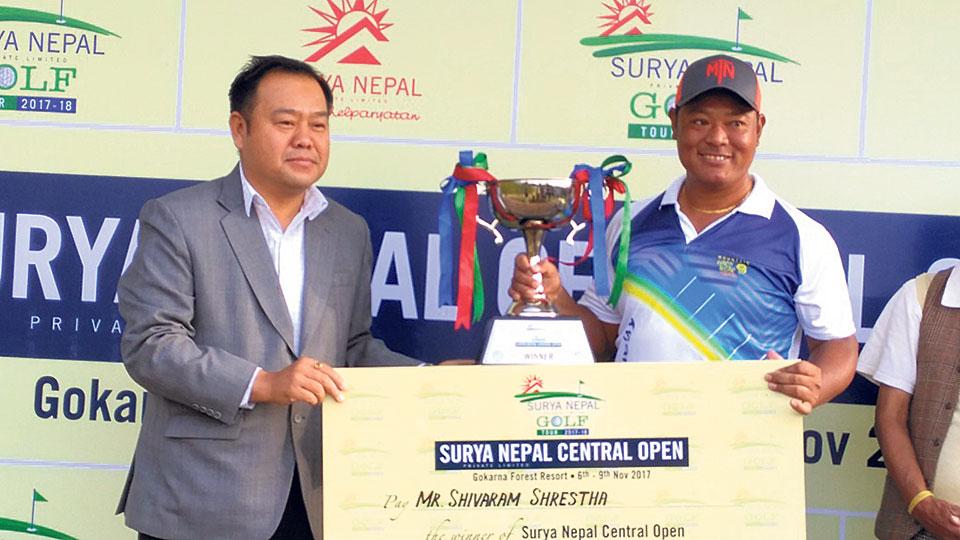 Shrestha becomes Surya Nepal Golf Champion