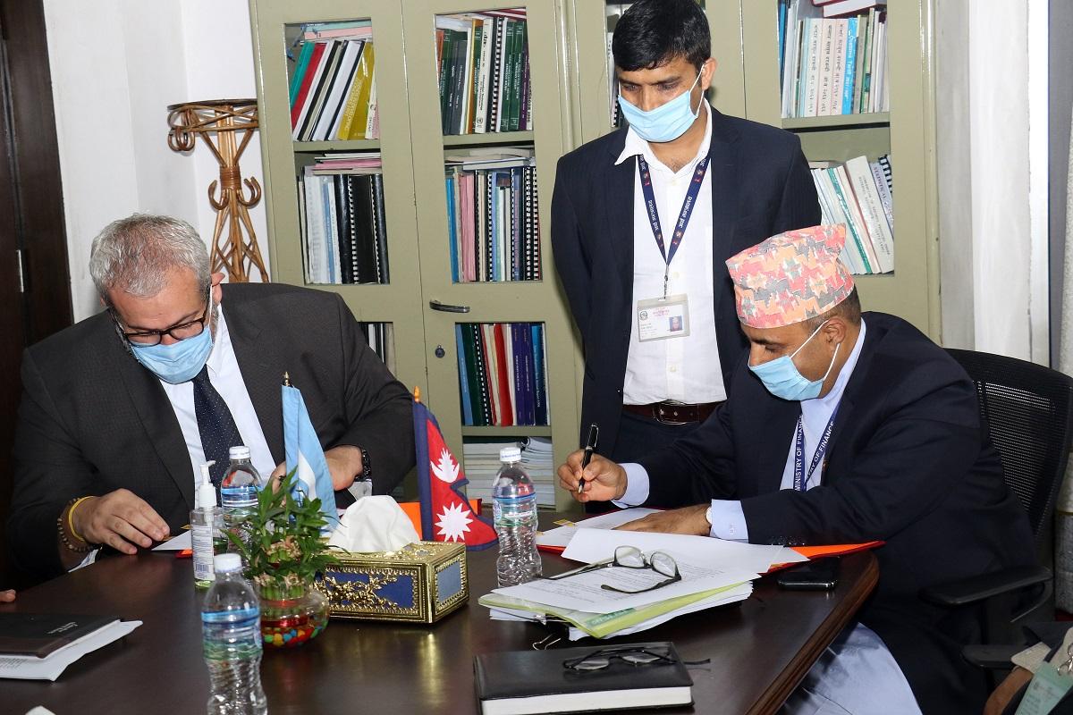 Nepal and World Bank sign DPC of 100 million USD