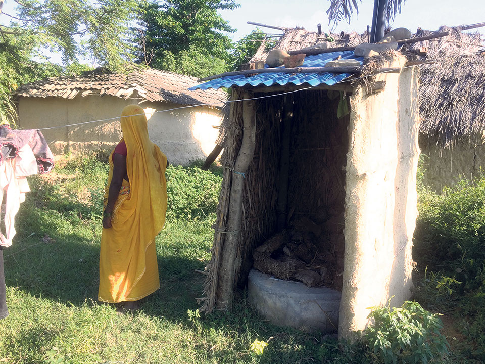 Siraha declared ODF zone despite many houses lacking toilets
