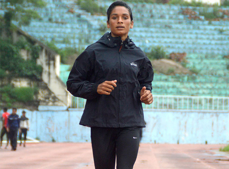 Saraswati sets national record