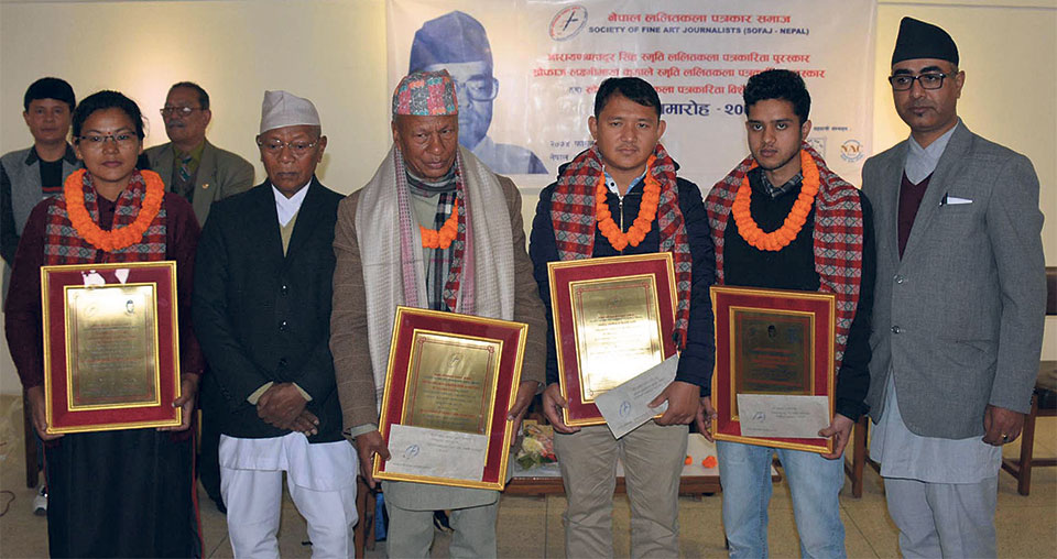 SOFAJ Nepal honors journalists