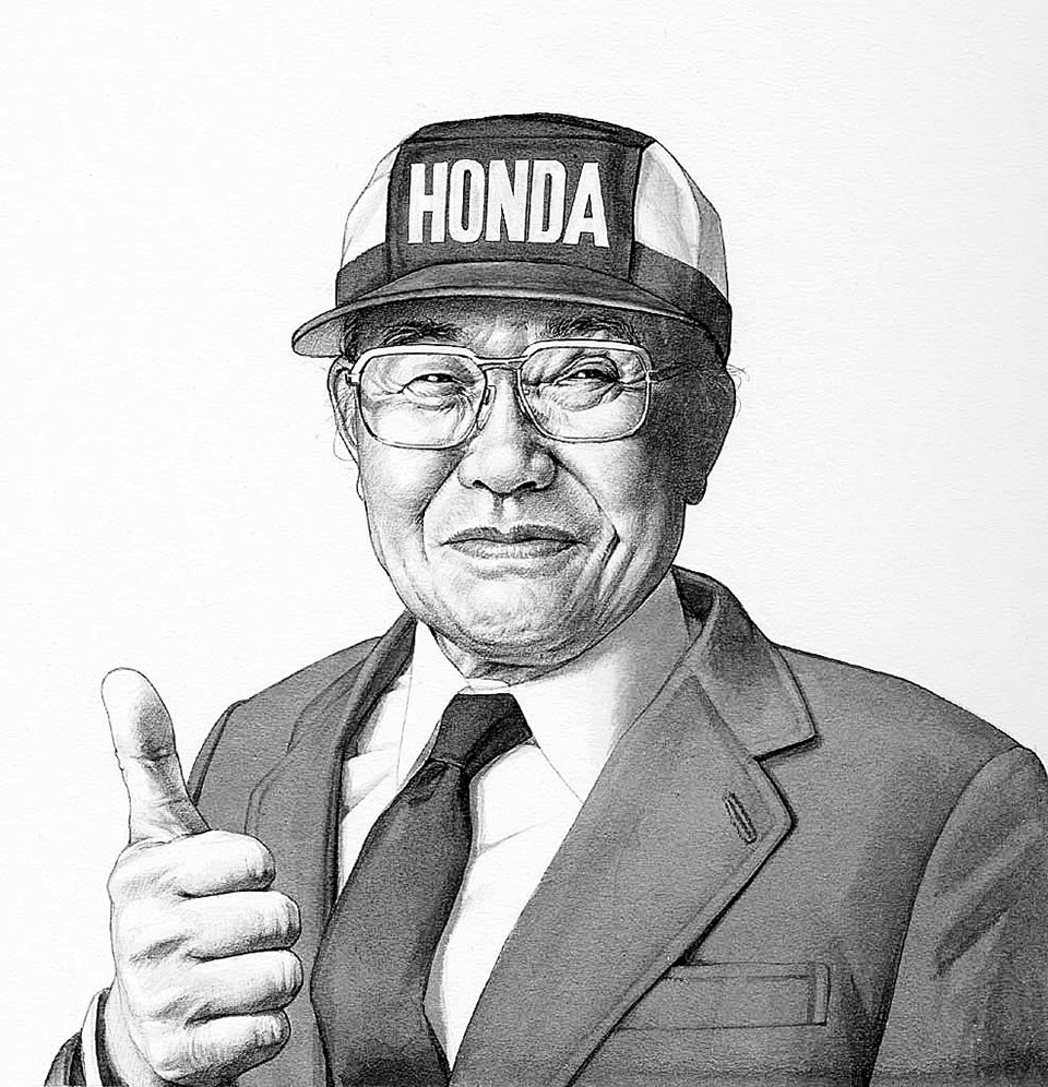 """Success is 99 percent failure.""- Soichiro Honda"