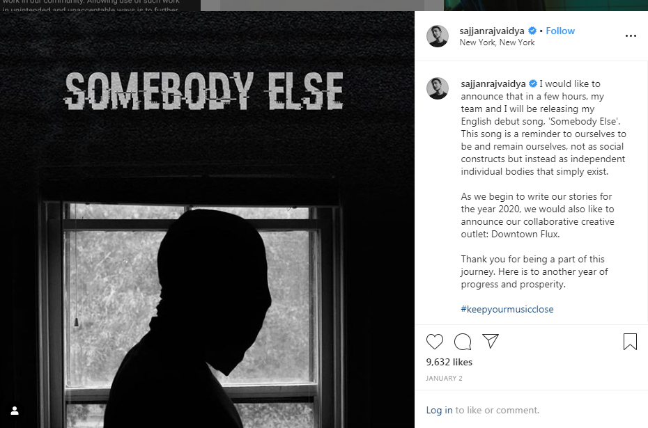 This is how Sajjan Raj and Sharif collaborated for 'Somebody Else'