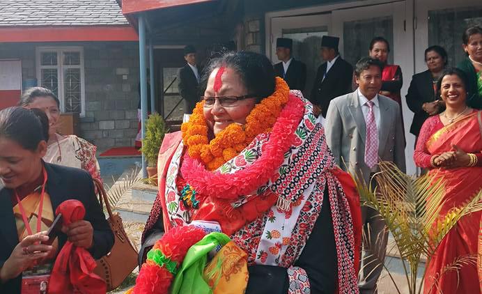 Srijana Sharma elected as deputy speaker of Province-4
