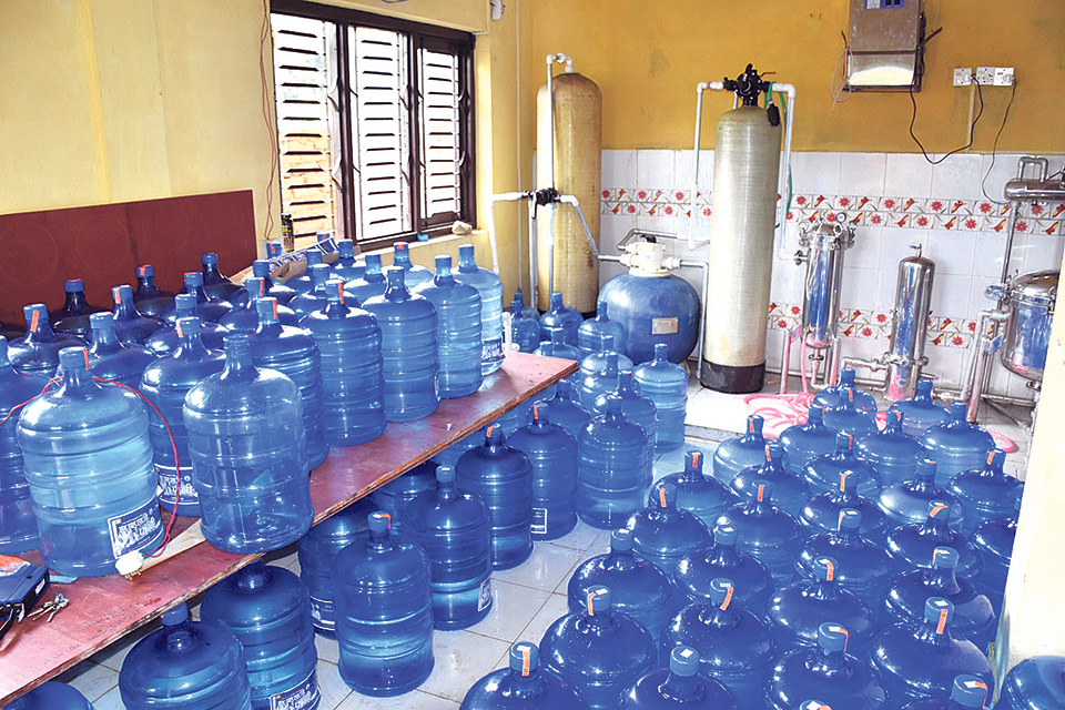 State-owned water body introduces bottled mineral water in jars