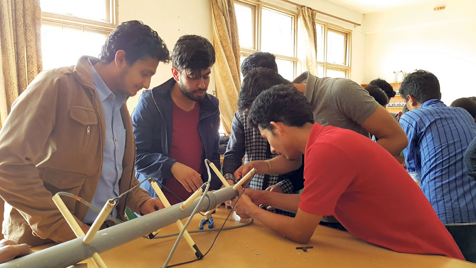 Student-made satellite to complete by mid-2018