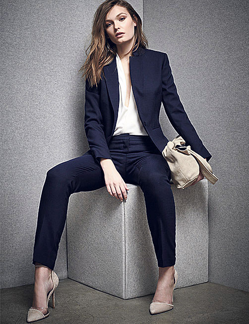 Suiting women