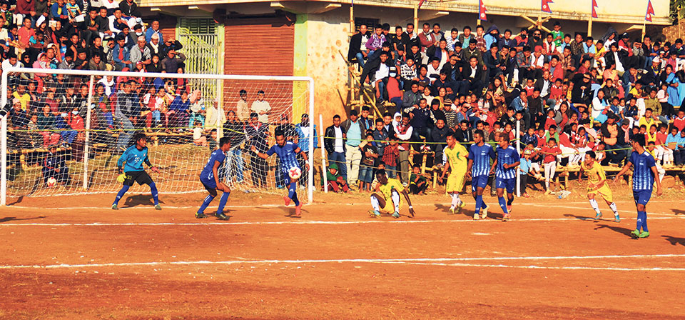 Sunsari stuns Boys Union in Falgunanda Gold Cup