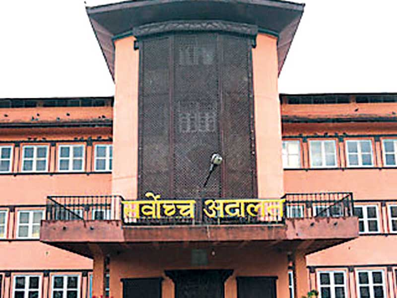 SC staffers briefly seize ex-CJ Shrestha's car