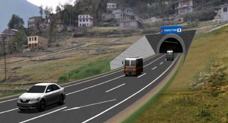 Nagdhunga-Naubise tunnel road to be built by 2022