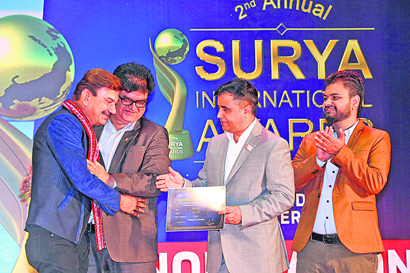 Nominations of 'Surya International Award-2018' out