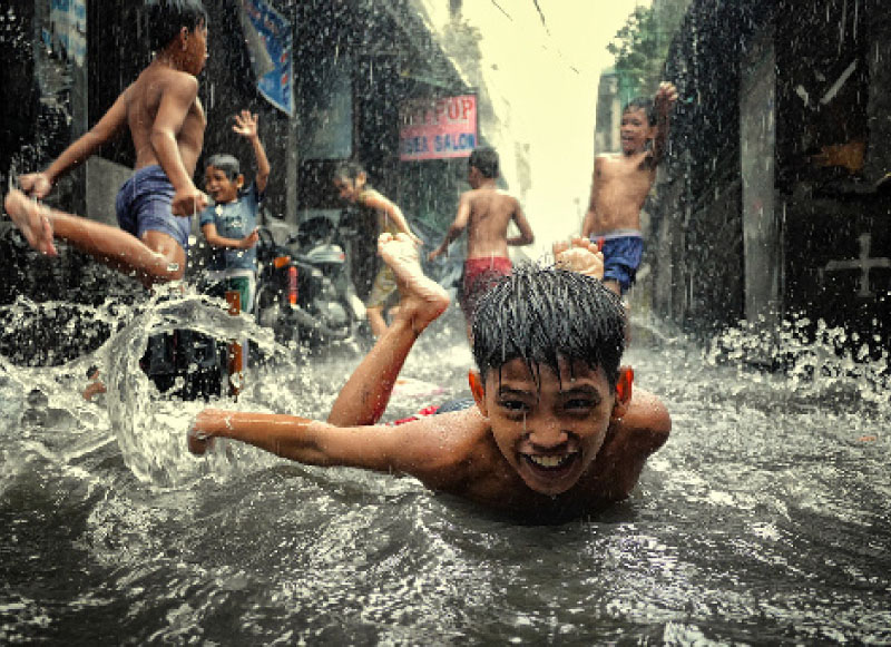 Finding the fun in monsoon