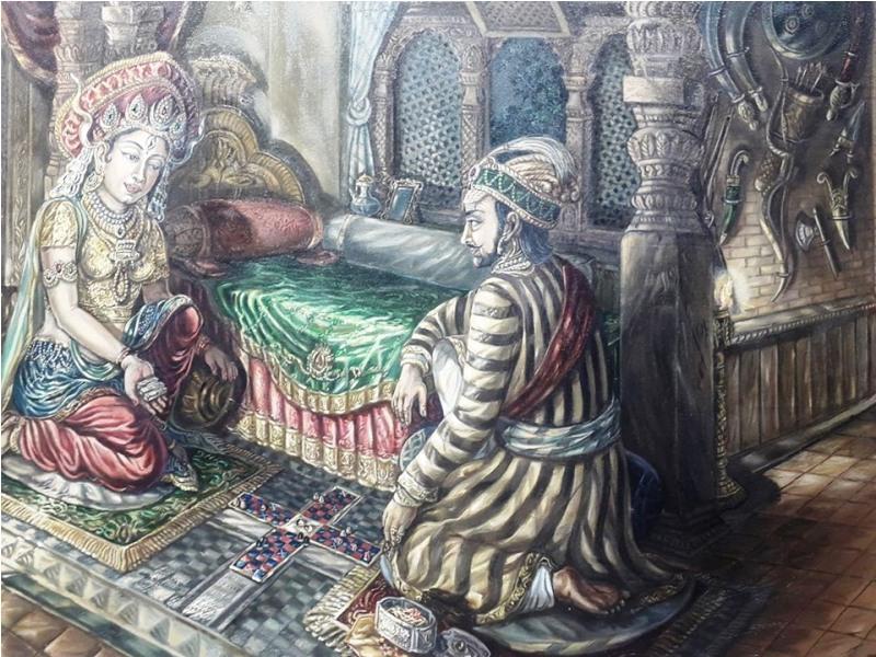 Paintings that speak history of Nepal