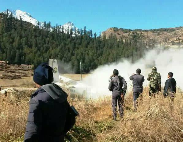 Tara Air plane crashes in Humla, seven injured