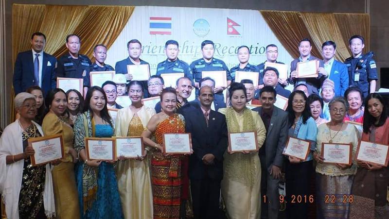 NRNA, Thailand honors 105 people, organizations