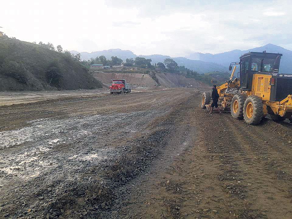 Construction of Thamkhara airport delayed