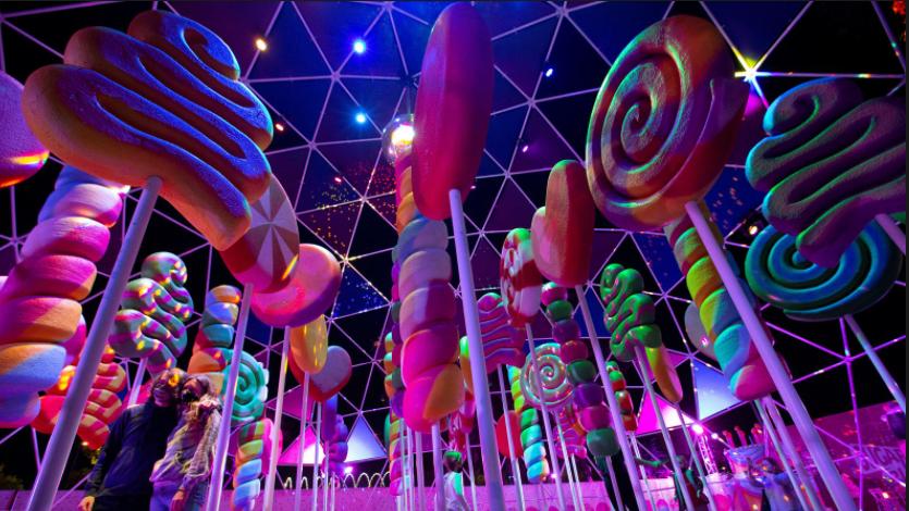 Eye candy: getting high at California's Sugar Rush theme park