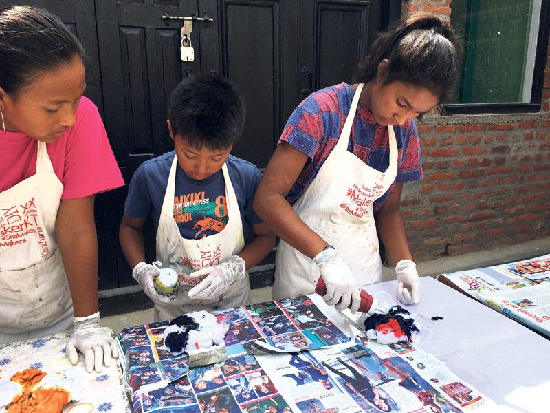 KIC organizes tie-dye workshop for children