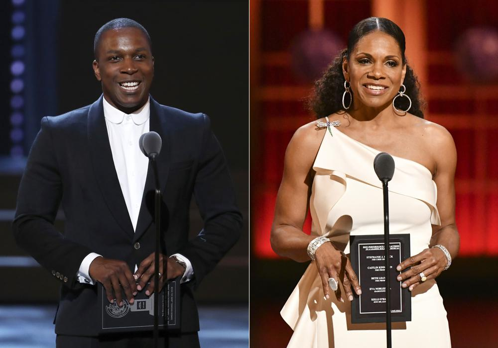 Tony Awards land hosts Leslie Odom Jr. and Audra McDonald