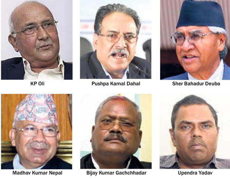 Top leaders in tough poll battles