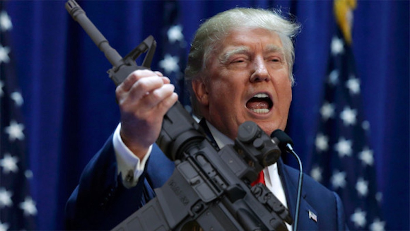 Trump's gun plan backs armed teachers, avoids changing age limits