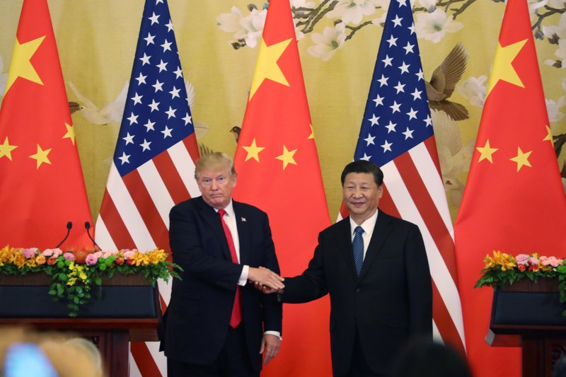 Trump criticizes 'one-sided' Chinese trade deals