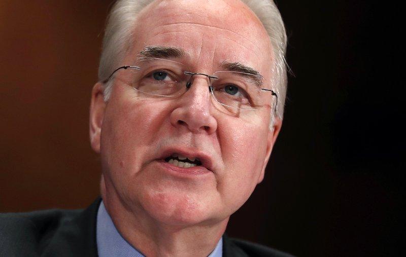 Trump's health secretary resigns in travel flap