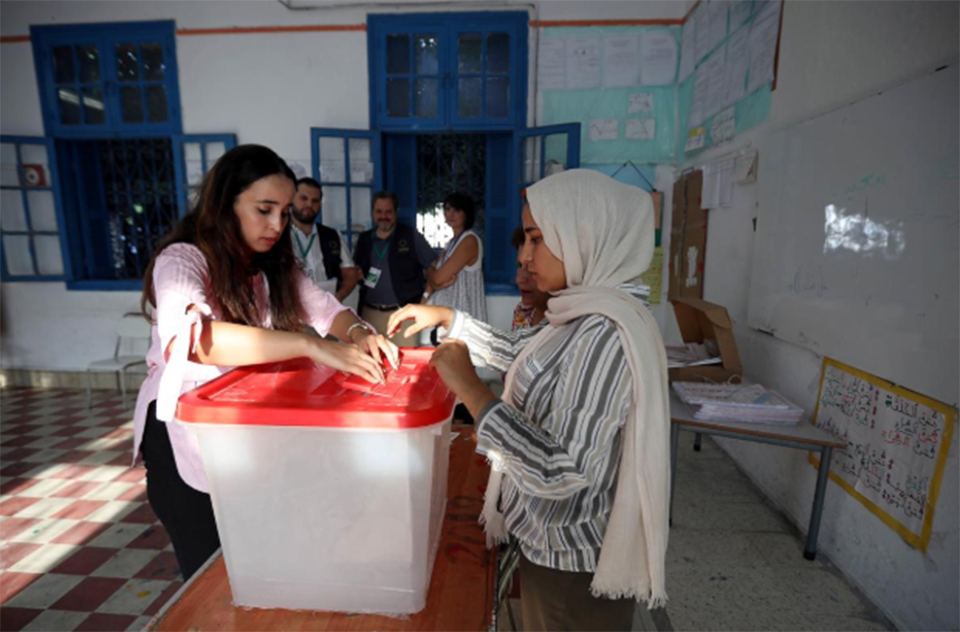 Voting starts in Tunisian presidential election