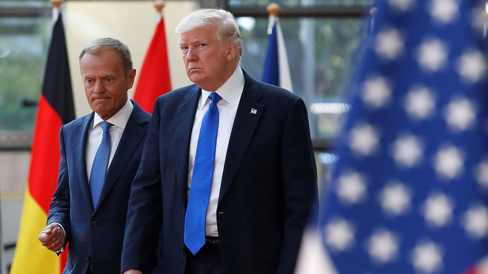 EU's Tusk to Trump: Respect your allies, you don't have many