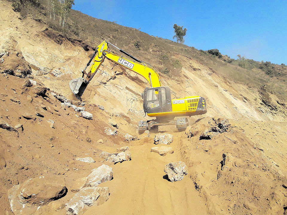 Locals intervene to save historical site in Khotang
