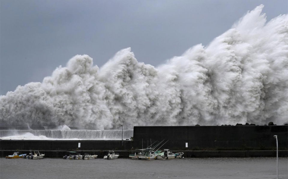 In Pictures: Devastation from Jebi, Japan's biggest typhoon in 25 years time