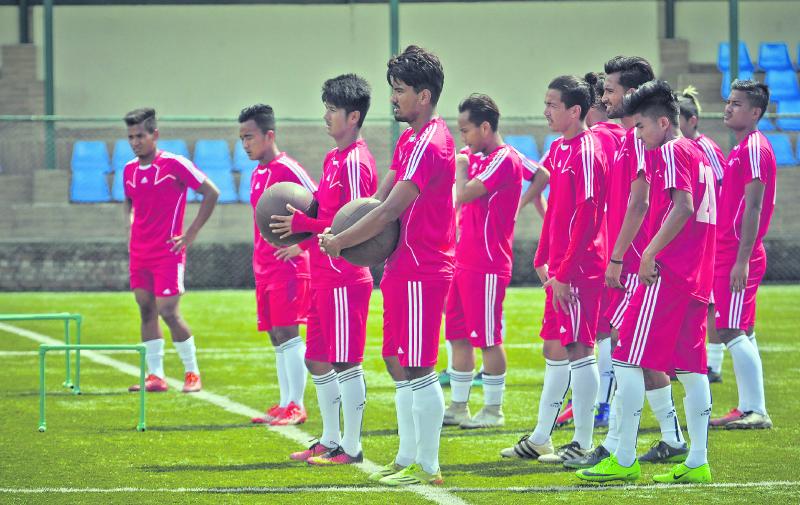 U-23 football teams of Nepal, Bangladesh to play friendly