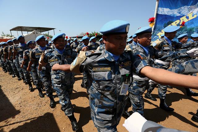 Nepali Police Unit awarded UN Medal for service in South Sudan