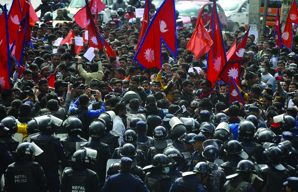 Stand united for Nepal