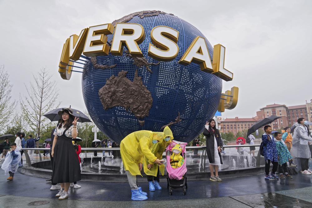 Universal Studios opens Beijing park under anti-virus curbs