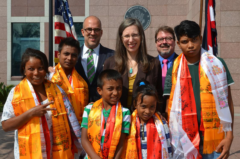 Int'l community continues to ask Bhutan to repatriate refugees: US envoy