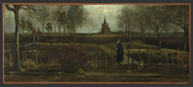 Van Gogh painting stolen from Dutch museum closed by virus