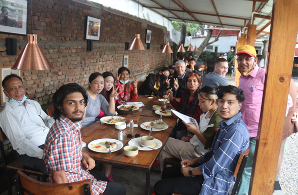 Gearing up for 'The Himalayan Vegan festival 2022'