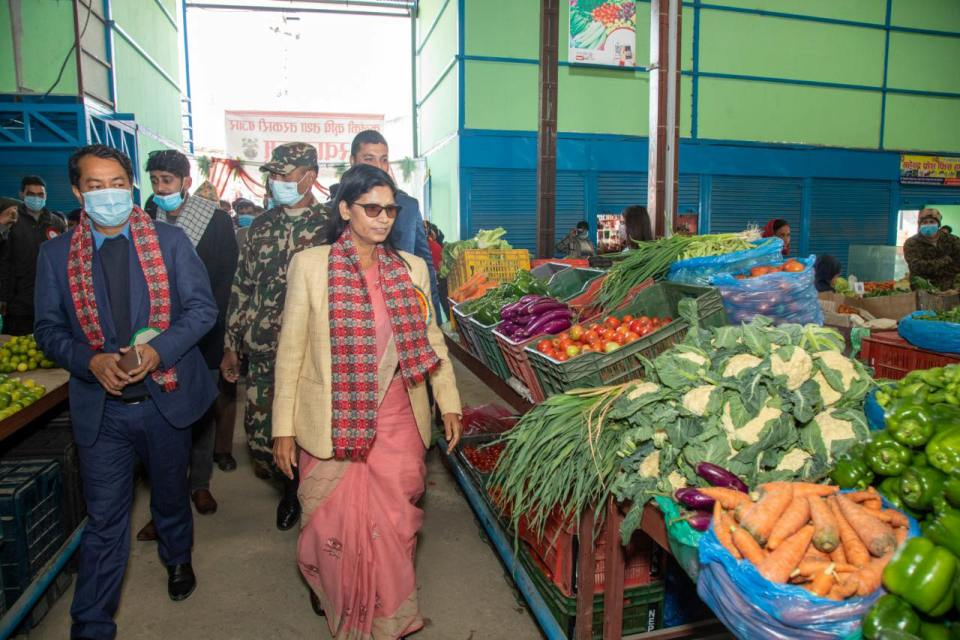 Agriculture and Vegetable Market opens its outlet in Kalanki to provide direct market access to farmers