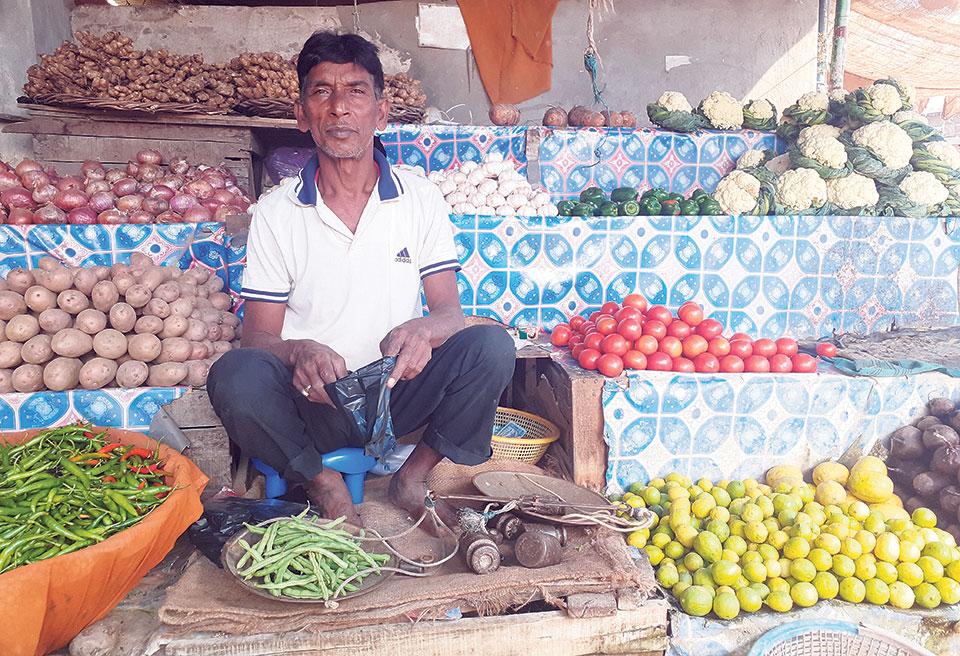 Vegetables prices skyrocket in Nepalgunj