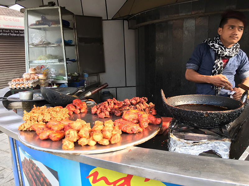 Quality Control Department monitors street food stalls