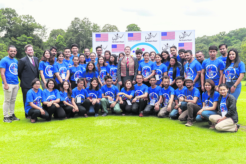 Leaders of Tomorrow Begin Their Journey With USYC Nepal