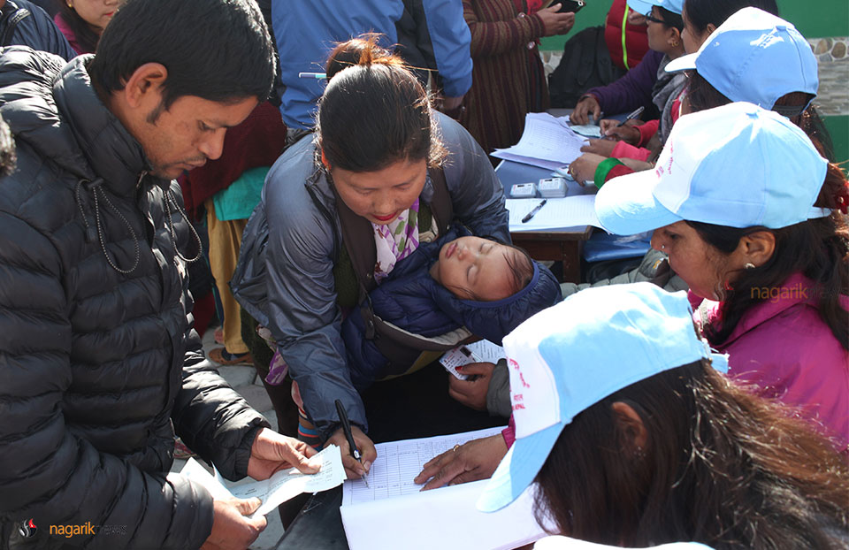 In Pictures: Voter ID distribution