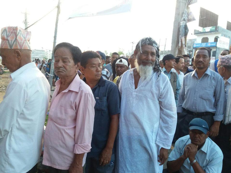 Voting begins (Photos from Nepalgunj)