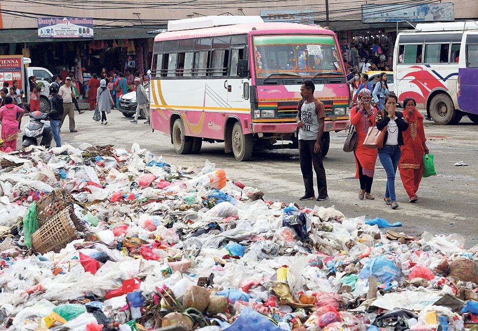 Resolving Kathmandu Valley's solid waste problems