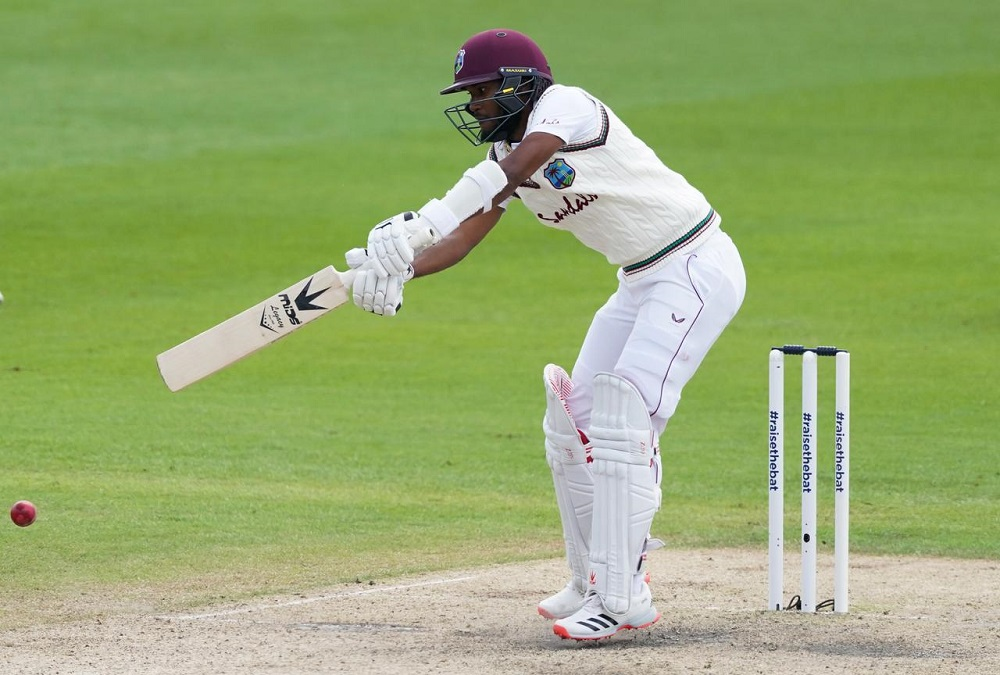 West Indies 118-2 at lunch on day four against England